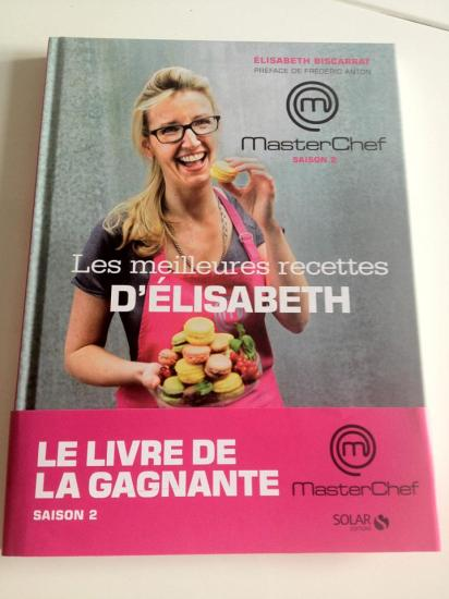 CookBook Gagnante Masterchef saison 2