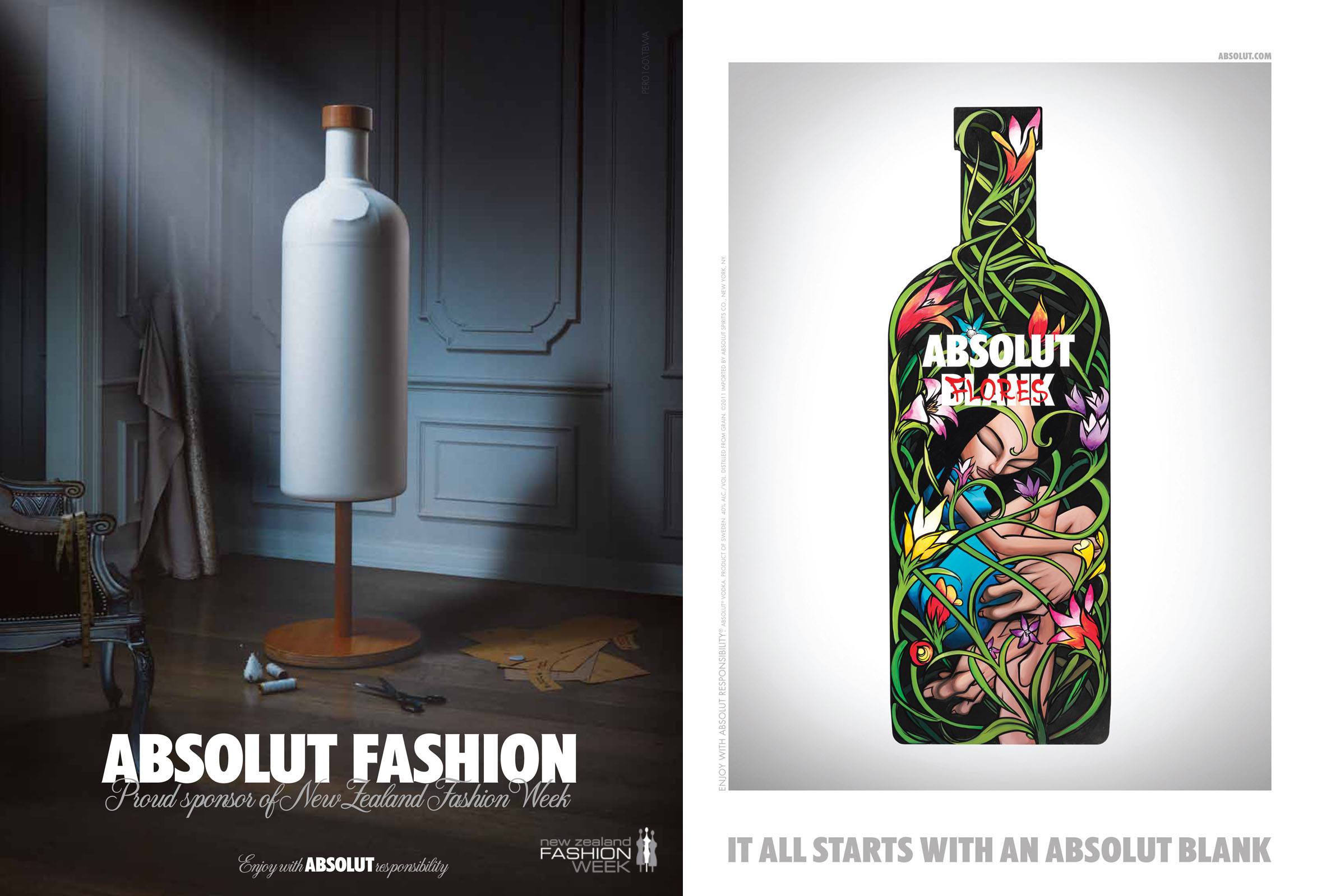 Absolut Blank - Absolut Fashion