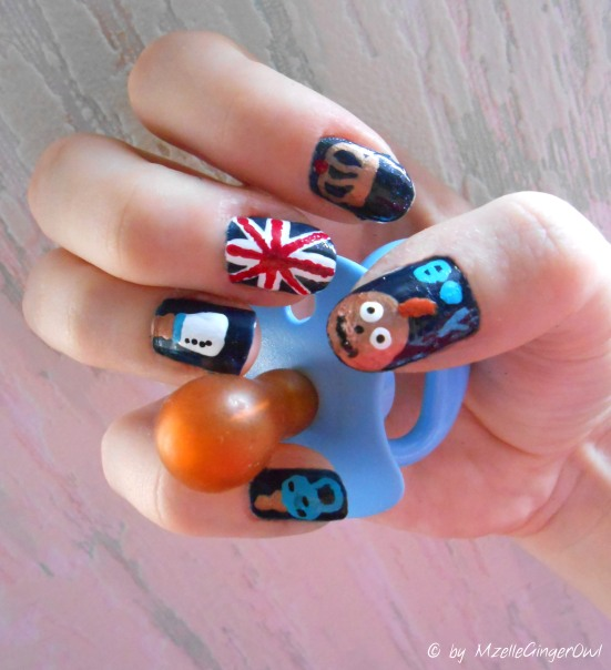 royal baby nails