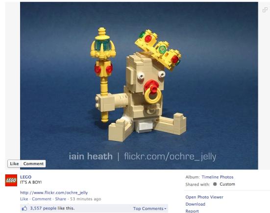 LEGO Royal Baby