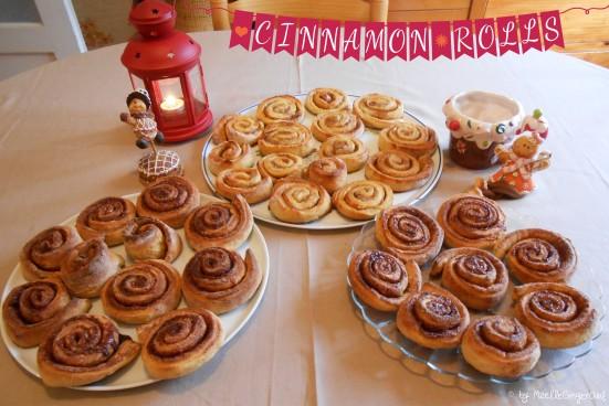 My Cinnamon rolls