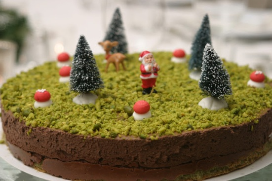 La forêt du Père Noël