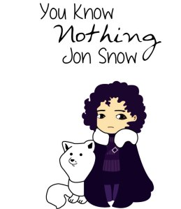 jon snow sweater